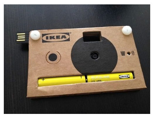 IKEA Makes Digital Cameras Out Of Cardboard