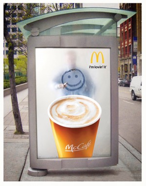 McCafe at Bus Stops