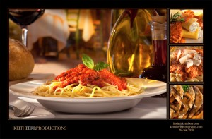 Pasta at Stancato's