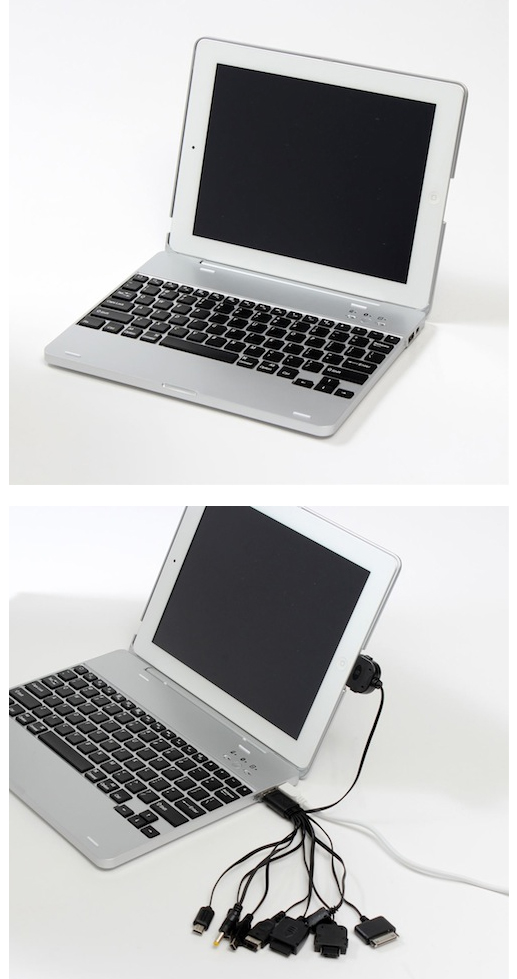 iPad Case Turns iPad Into Macbook Pro